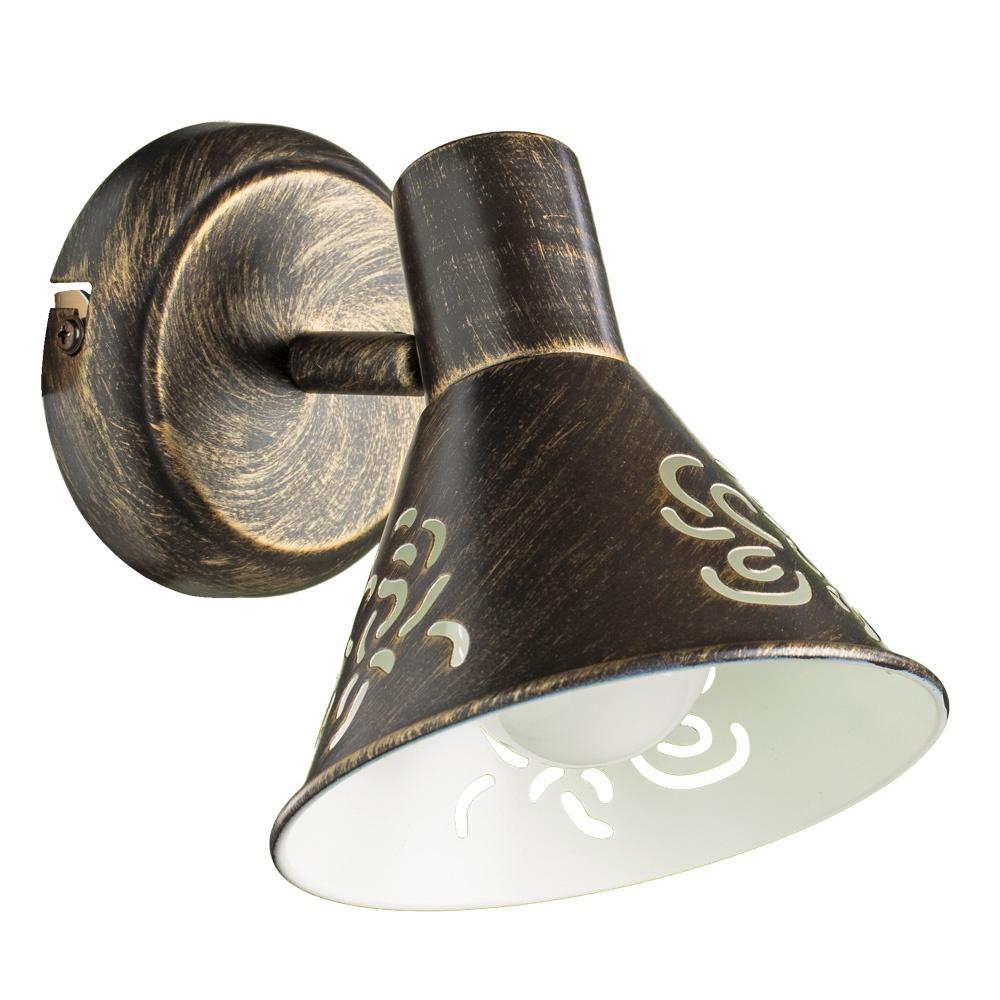 Настенно-потолочный светильник Arte Lamp A5218AP-1BR, E14, 40 Вт