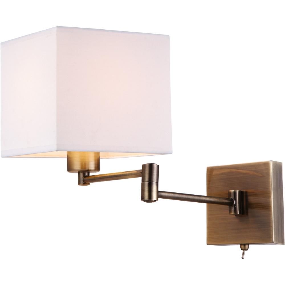 Бра Arte Lamp A9247AP-1AB, E27, 40 Вт