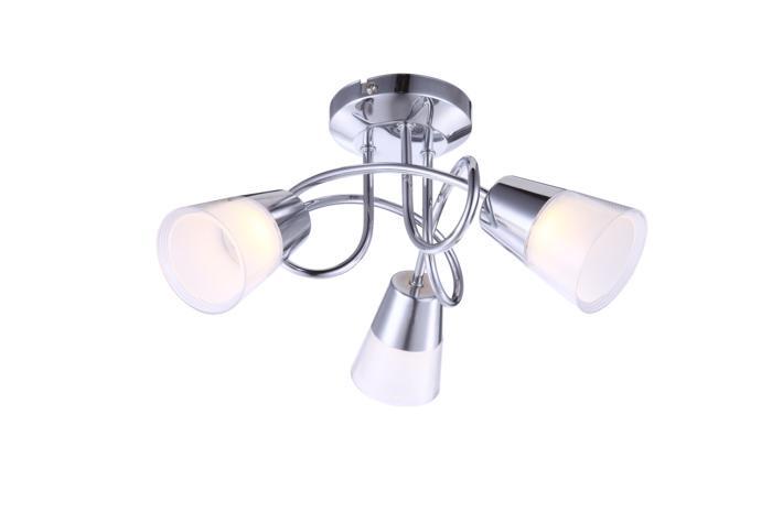 Настенно-потолочный светильник Globo New 56185-3D, серый металлик globo потолочная светодиодная люстра globo tieka 56185 3d