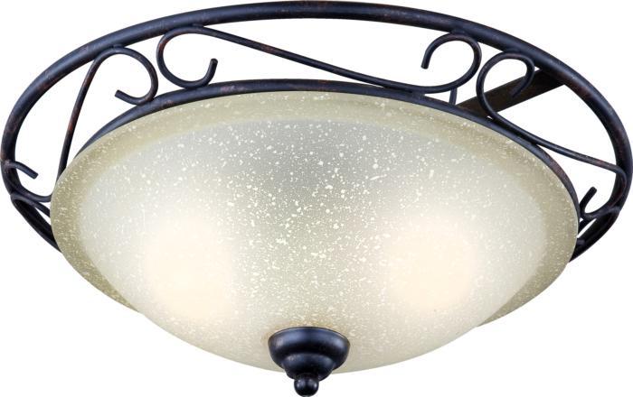 Настенно-потолочный светильник Globo New 4413-2, коричневый цены