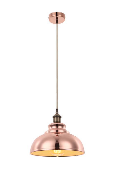 Подвесной светильник Globo New 15083, медь светильник подвесной