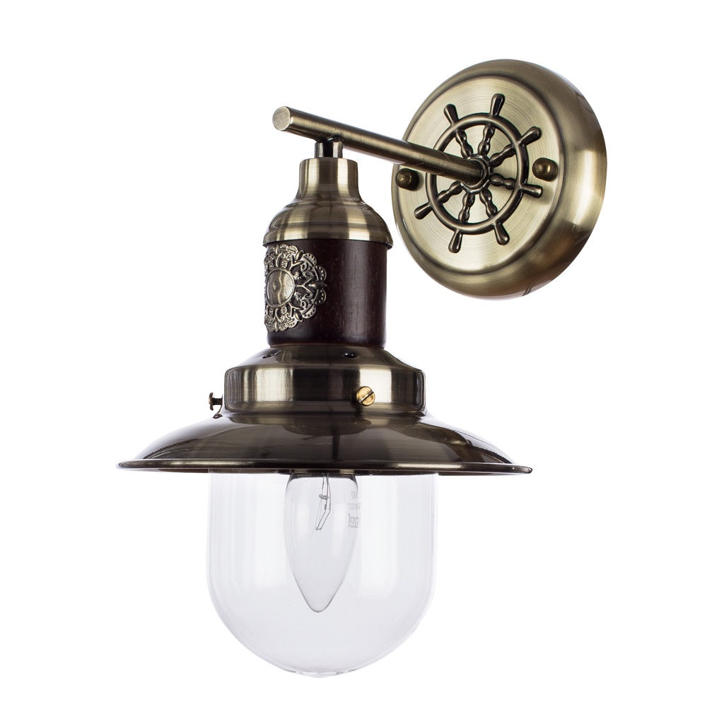 Бра Arte Lamp A4524AP-1AB, бронза arte lamp спот arte lamp 43 a2054ap 1ab