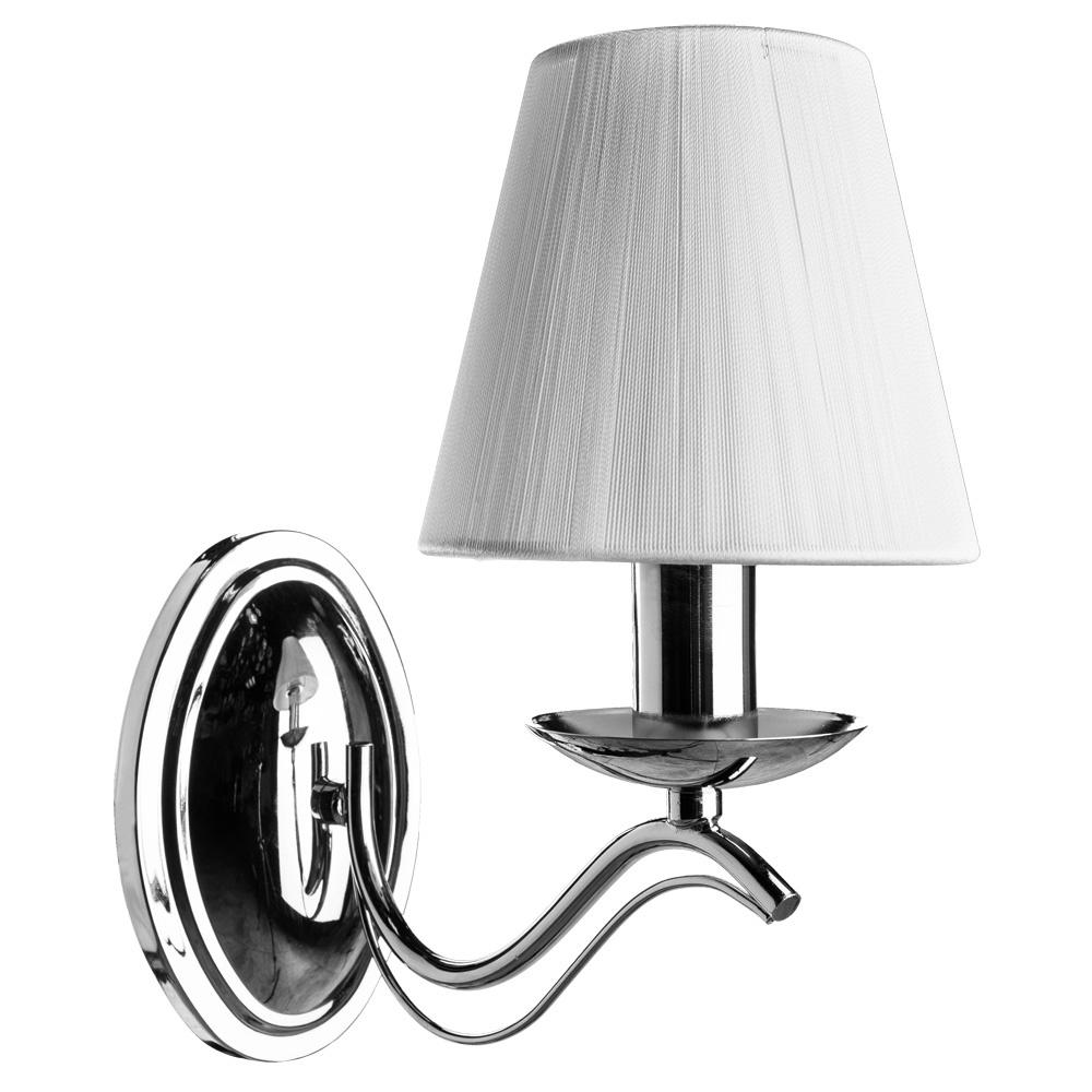 Бра Arte Lamp A9521AP-1CC, серый металлик arte lamp бра domain a9521ap 1ab