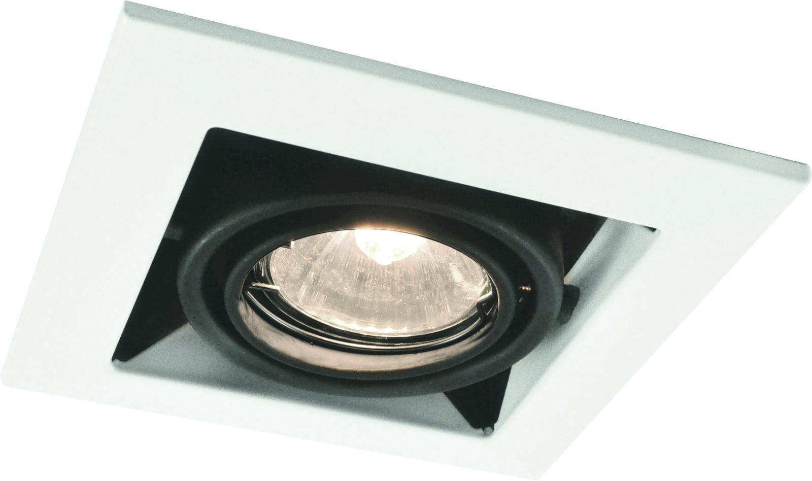 Встраиваемый светильник Arte Lamp A5941PL-1WH, GU10, 50 Вт arte lamp встраиваемый светильник arte lamp cardani white a5941pl 4wh