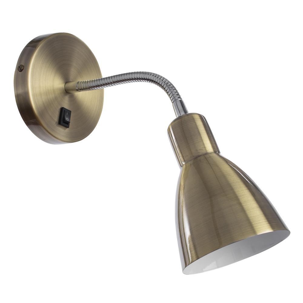 Бра Arte Lamp A1408AP-1AB, E14, 40 Вт