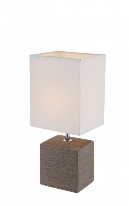 купить Настольный светильник Настольный светильник 21677, E14, 40 Вт по цене 1670 рублей