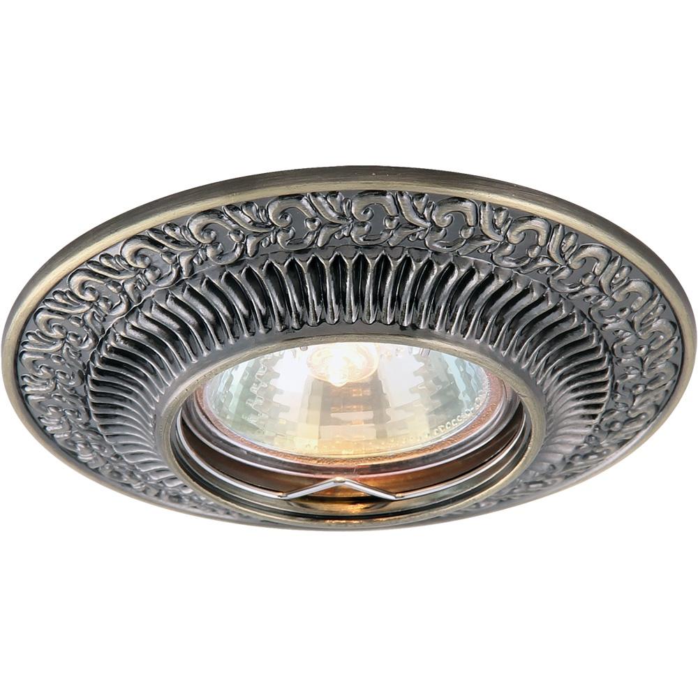 Встраиваемый светильник Arte Lamp A5280PL-1AB, GU5.3, 50 Вт