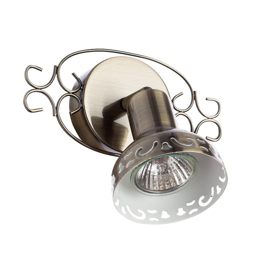 Настенно-потолочный светильник Arte Lamp A5219AP-1AB, бронза