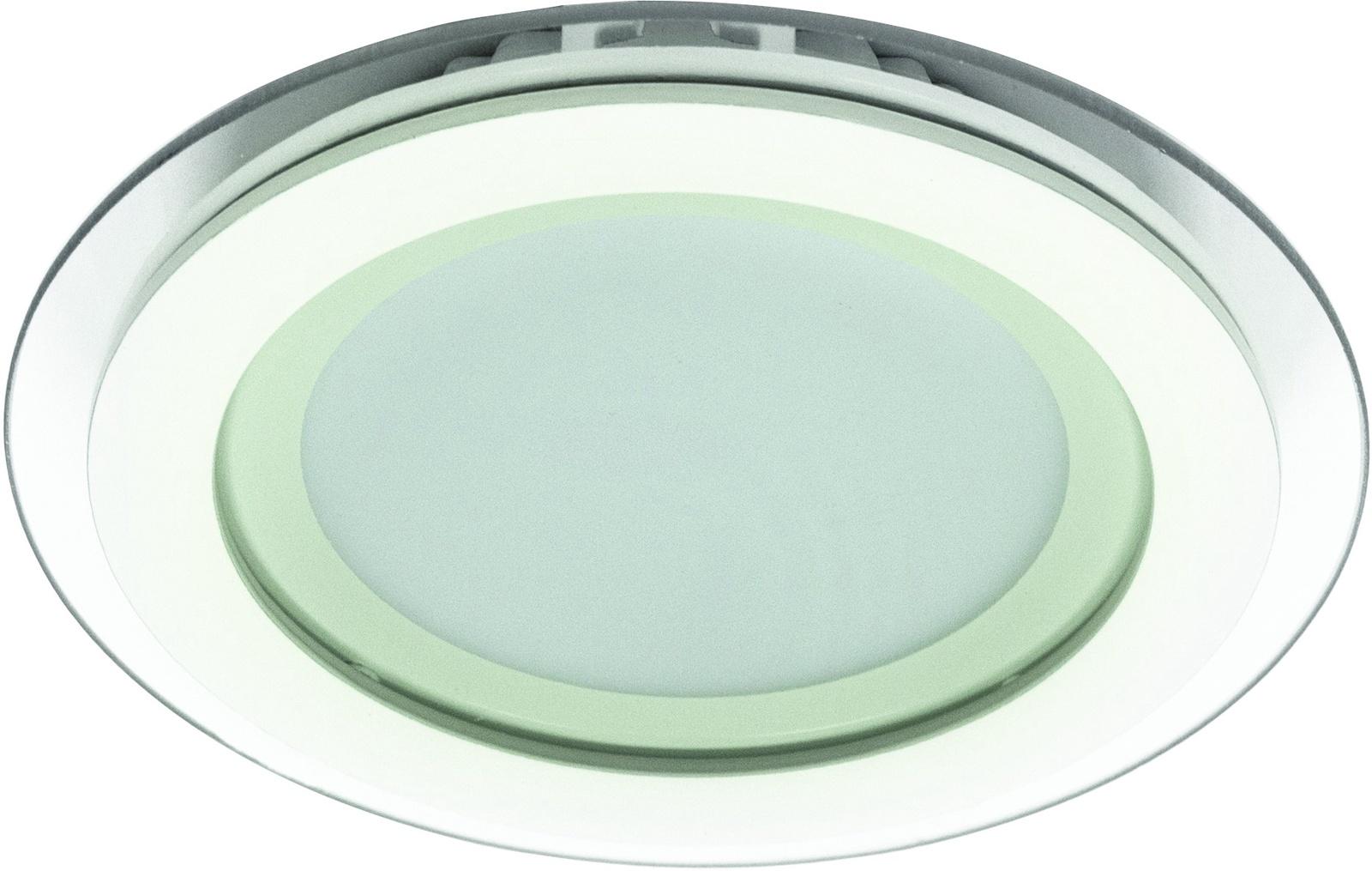 Встраиваемый светильник Arte Lamp A4106PL-1WH, LED, 6 Вт светильник встраиваемый arte lamp a4106pl 1wh