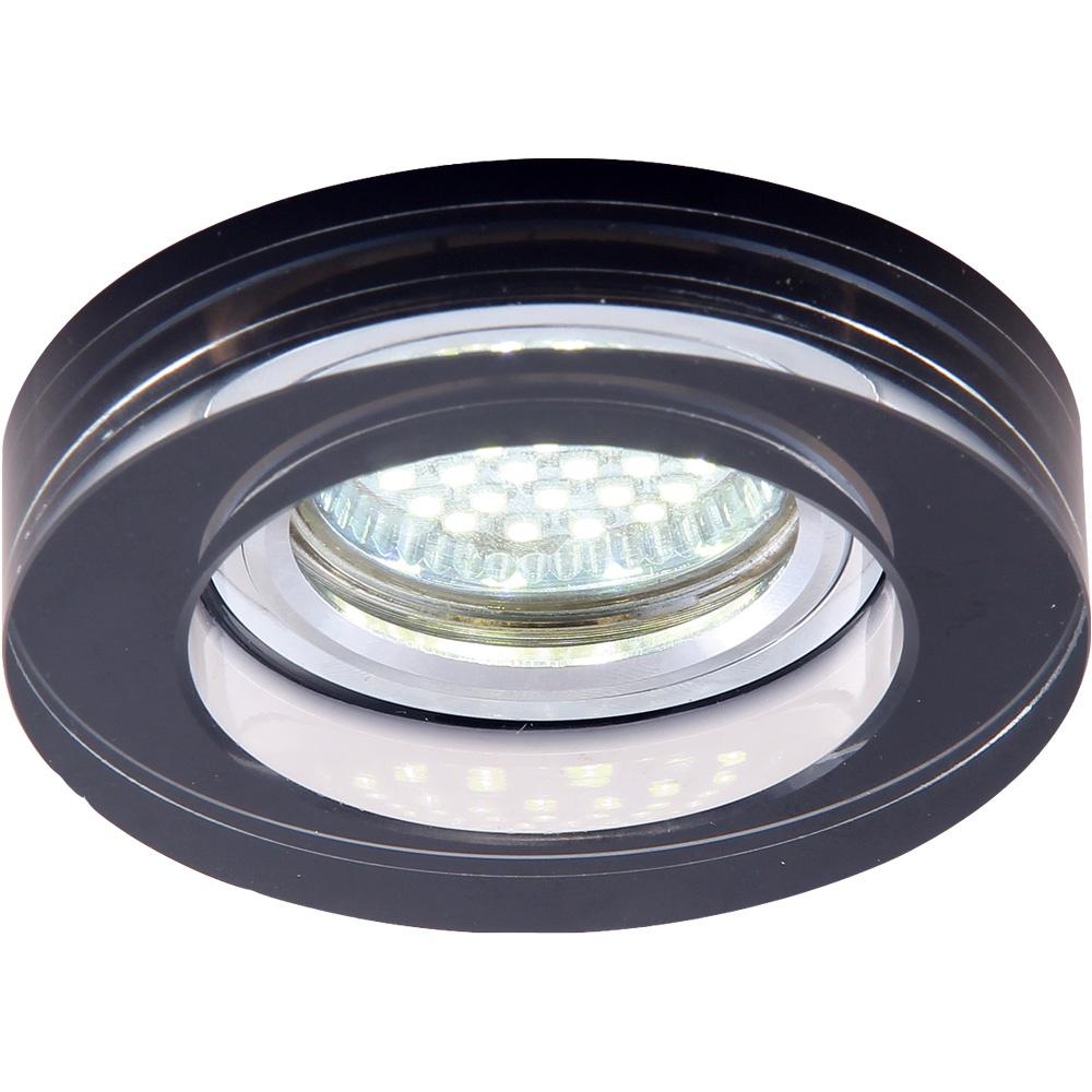 Встраиваемый светильник Arte Lamp A5223PL-1CC, серый металлик цена