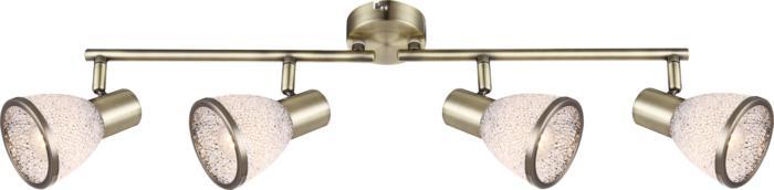 Настенно-потолочный светильник Globo New 56046-4, бронза globo 56046 2