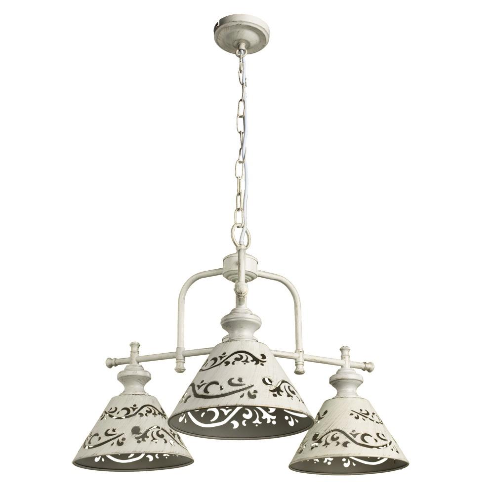 цена на Подвесной светильник Arte Lamp A1511LM-3WG, белый