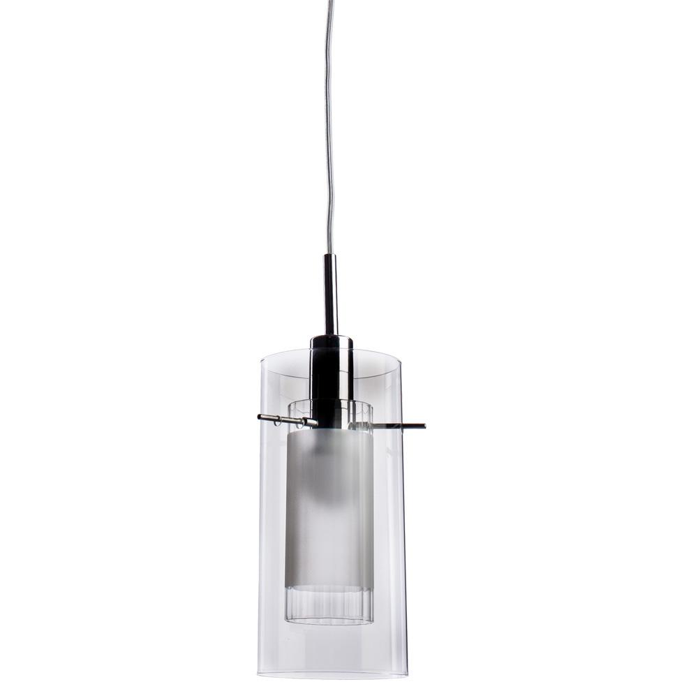 Подвесной светильник Arte Lamp A2300SP-1CC, серый металлик бра arte lamp cascata a2300sp 1cc