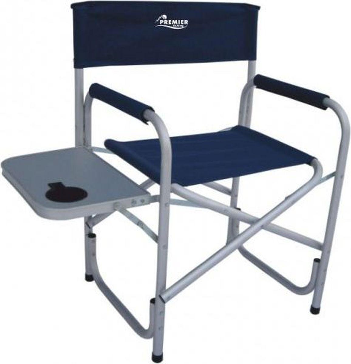 Кресло складное Premier со столиком, синий, 87 х 47 х 49 см кресло premier складное pr 249 140 кг