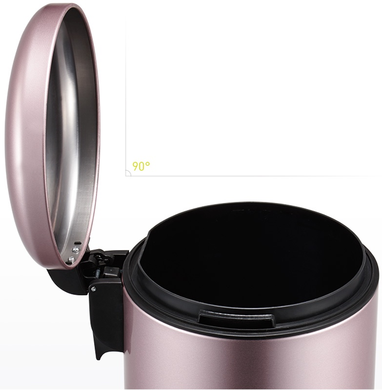 Мусорное ведро EKO EK9213-8L, светло-розовый EKO