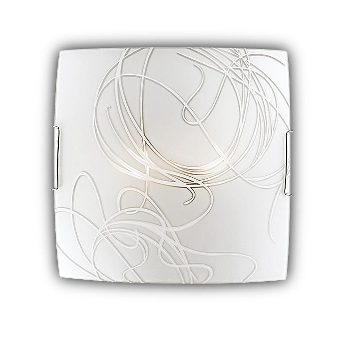 Настенно-потолочный светильник Sonex 2143, серый металлик цены