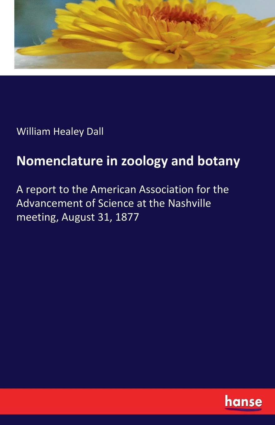 William Healey Dall Nomenclature in zoology and botany america market 100 pieces mixed botany zoology histology microscope prepared slides
