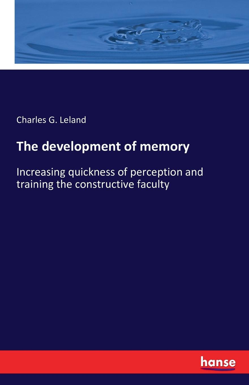 Charles G. Leland The development of memory 100% anv taiwan original research and development of cross running relay g4q 212s 220v