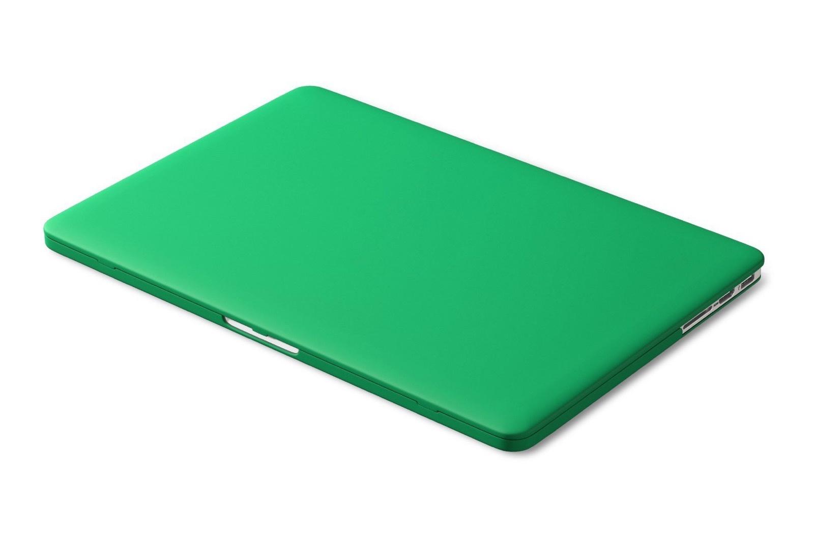 Чехол для ноутбука Gurdini накладка пластик матовый 220110 для Apple MacBook Retina 13 2013-2015, зеленый чехол накладка для ноутбука macbook pro 13 speck smartshell пластик зеленый 90206 5208