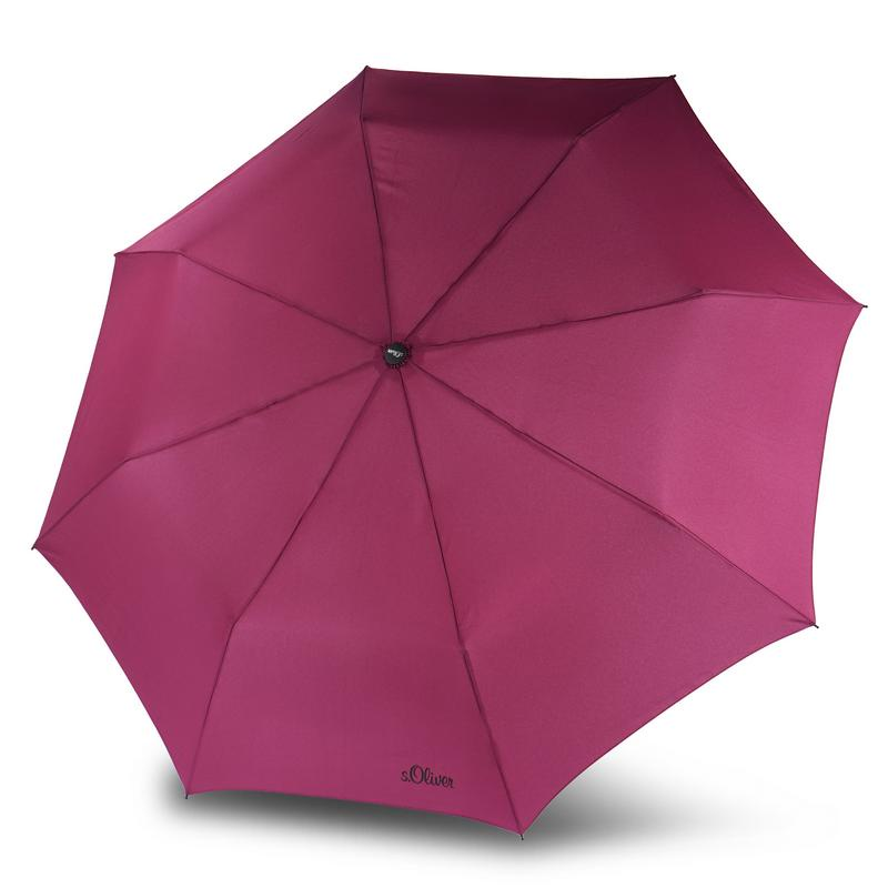 Зонт s.Oliver 70801SO23-BORDO, бордовый зонт зонт наоборот bordo