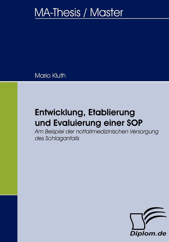 Mario Kluth Entwicklung, Etablierung und Evaluierung einer SOP at24c08 sop 8