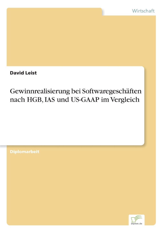 Gewinnrealisierung bei Softwaregeschaften nach HGB, IAS und US-GAAP im Vergleich Inhaltsangabe:Problemstellung:Die Besonderheit...