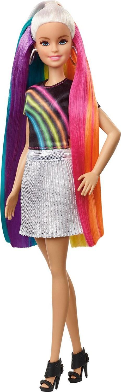 """Кукла Barbie """"Barbie с радужными волосами блондинка"""", FXN96"""