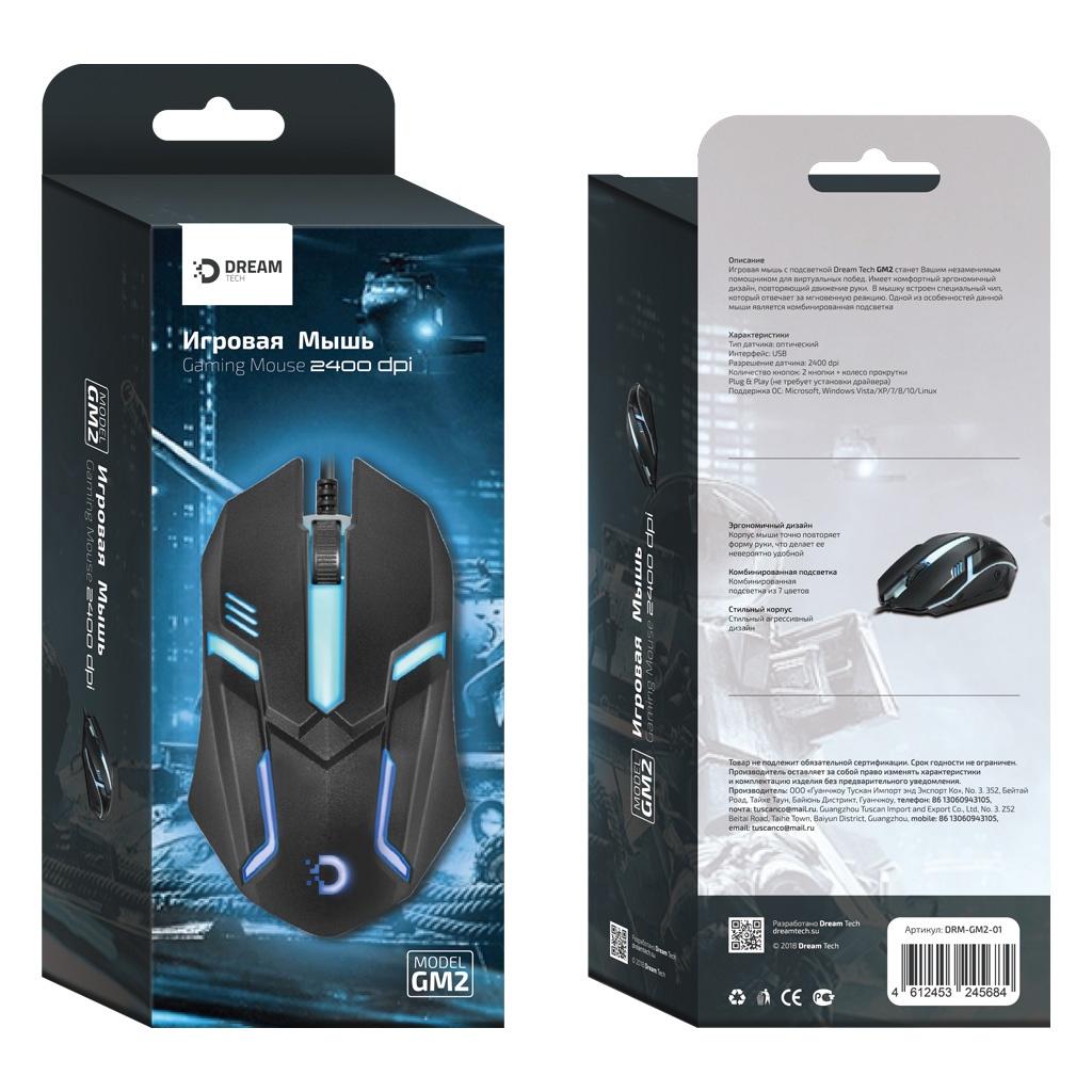 Игровая мышь DREAM DRM-GM2-01, черный lacywear s 3 drm