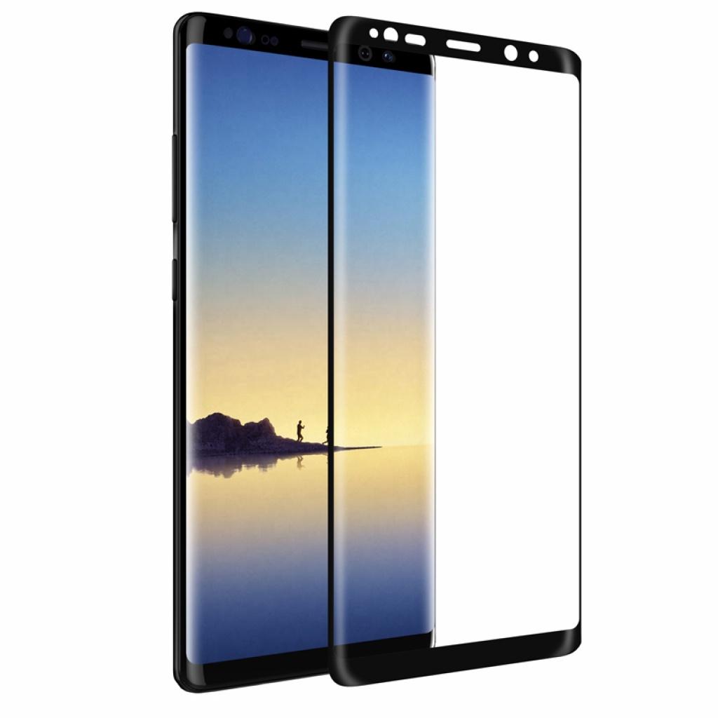Защитное стекло 5D ТЕХПАК для Galaxy NOTE 9, черный