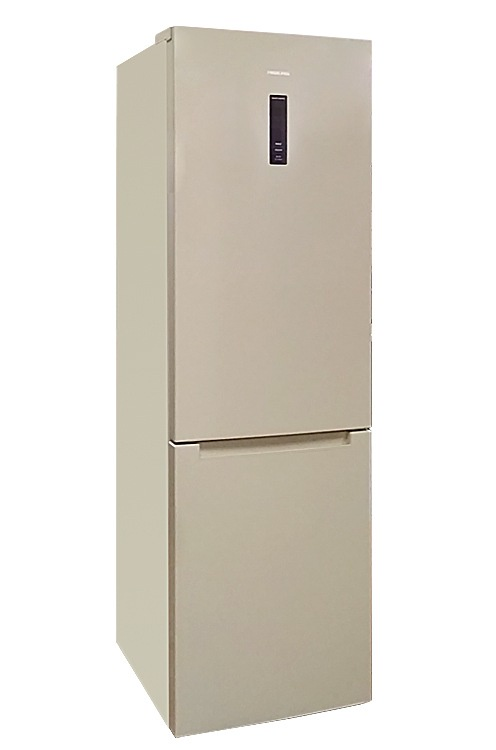 Холодильник HIBERG RFC-372DX NFY, бежевый