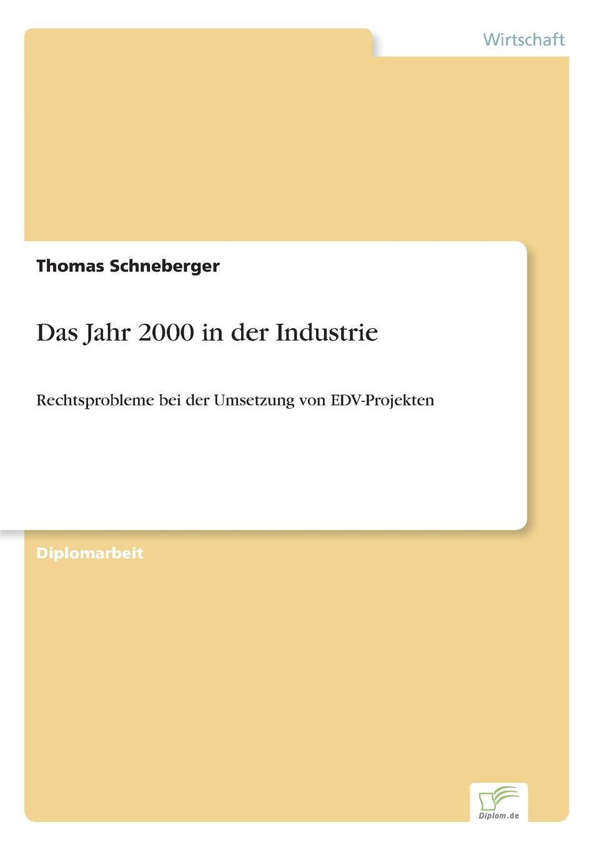 Das Jahr 2000 in der Industrie Inhaltsangabe:Einleitung:In dieser Arbeit geht es um die rechtlichen...