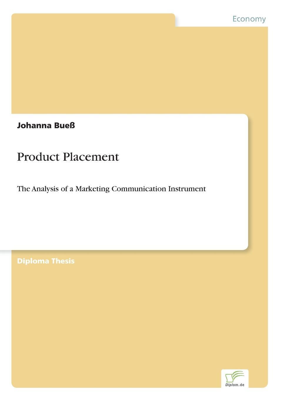 Johanna Bueß Product Placement kathrin niederdorfer product placement ausgewahlte studien uber die wirkung auf den rezipienten