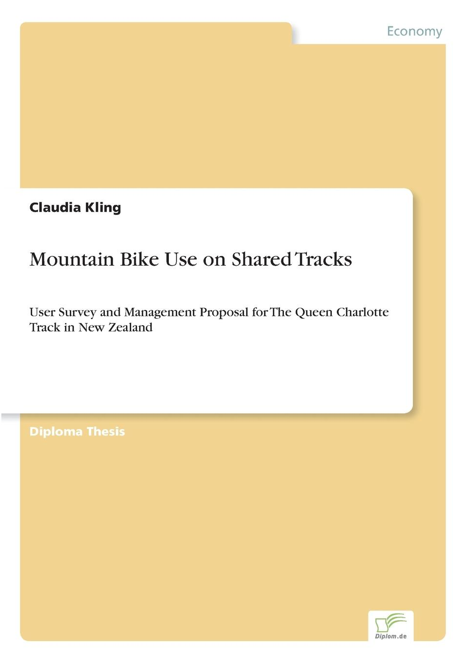 Claudia Kling Mountain Bike Use on Shared Tracks