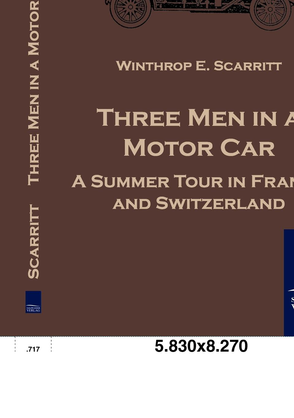 Winthrop E. Scarritt Three Men in a Motor Car