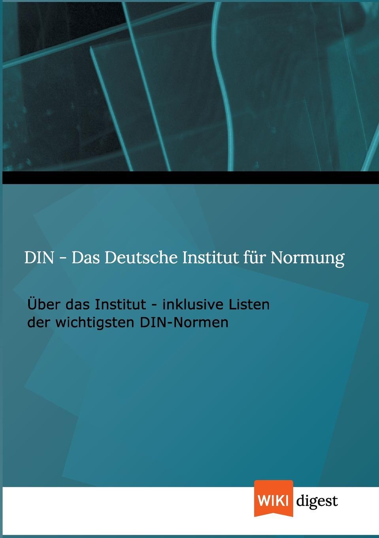 Wiki Digest Din - Das Deutsche Institut Fur Normung julian wangler ethnomedien in der bundesrepublik deutschland am beispiel von presse und tv der turkischen bevolkerung