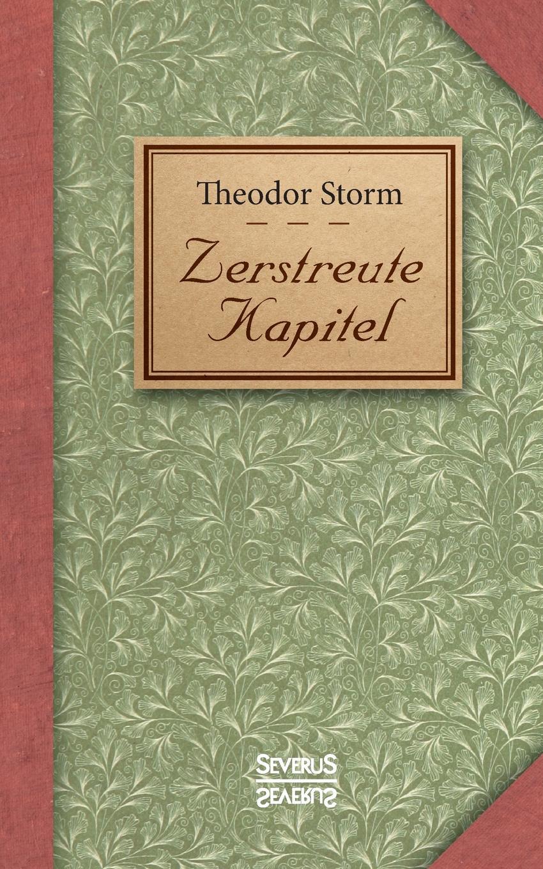 Theodor Storm Zerstreute Kapitel кононова лариса ивановна лисёнок сёма и год чудес с автографом автора