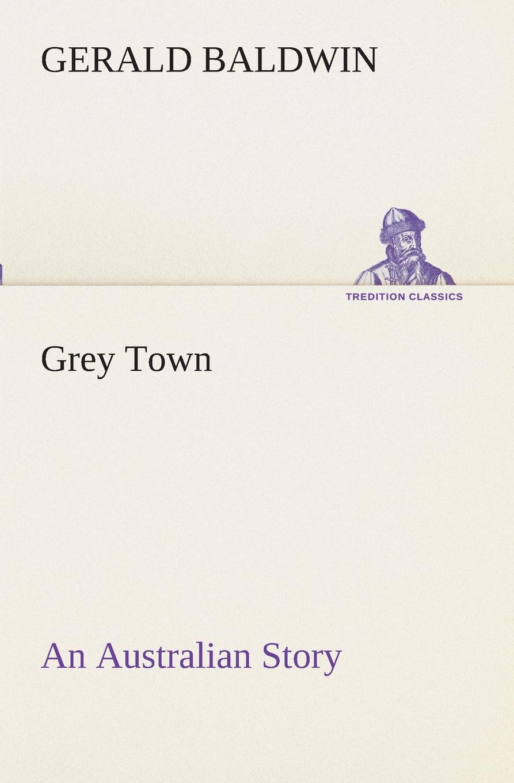 Gerald Baldwin Grey Town An Australian Story grey floral print off the shoulder tigh waist midi dress