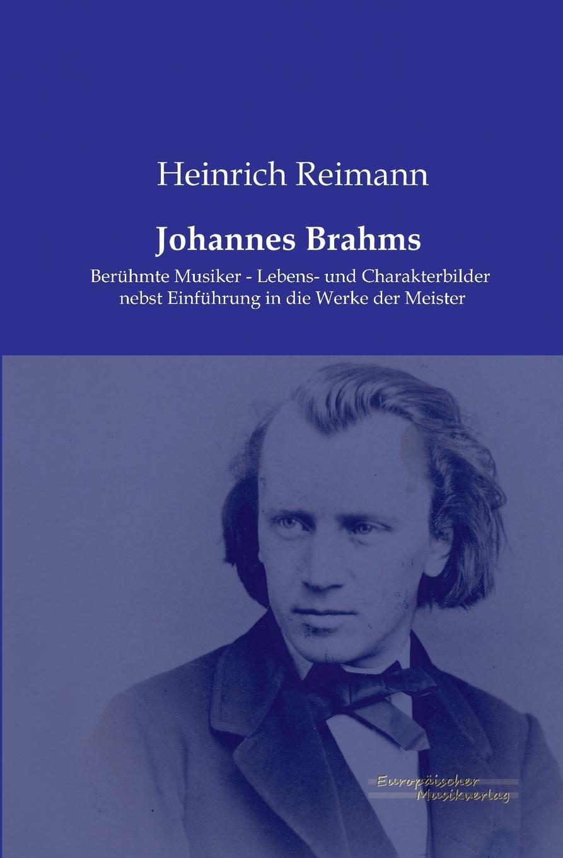 Heinrich Reimann Johannes Brahms clara schumann johannes brahms