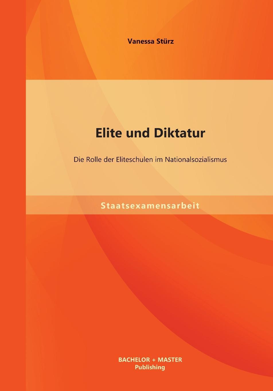 Vanessa Sturz Elite Und Diktatur. Die Rolle Der Eliteschulen Im Nationalsozialismus andreas kern die genese des judensterns im nationalsozialismus