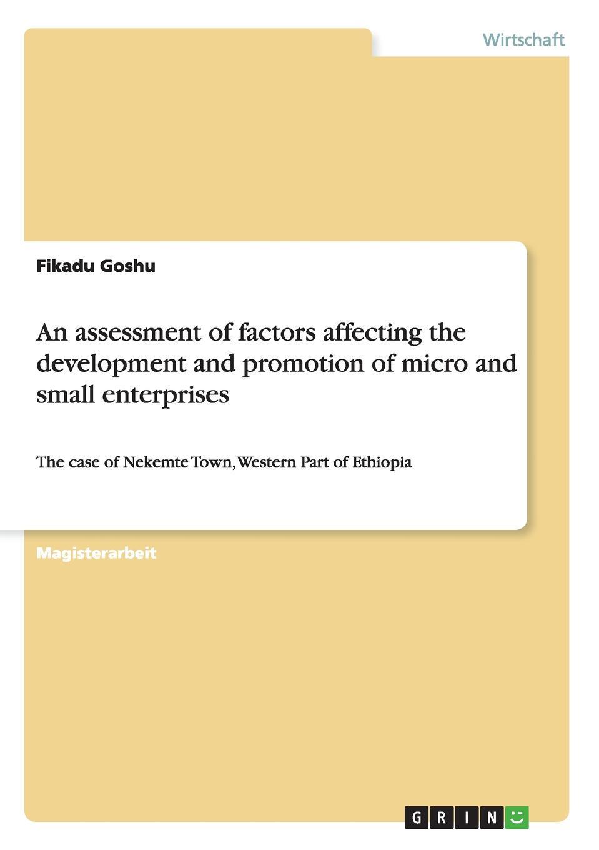 цена на Fikadu Goshu An assessment of factors affecting the development and promotion of micro and small enterprises