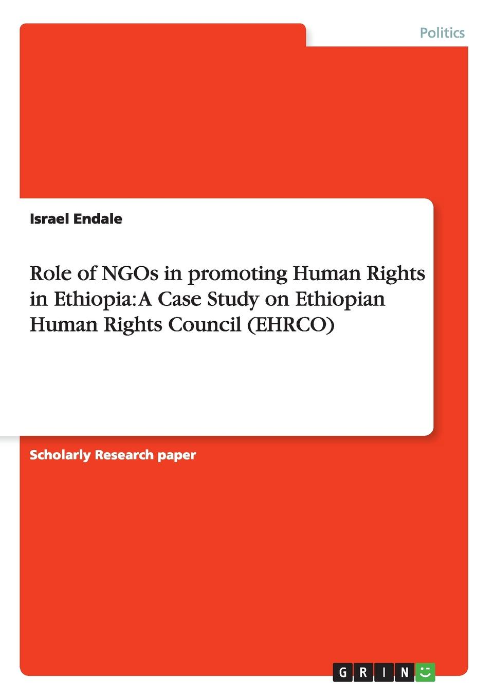 Israel Endale Role of NGOs in promoting Human Rights in Ethiopia. A Case Study on Ethiopian Human Rights Council (EHRCO) israel endale role of ngos in promoting human rights in ethiopia a case study on ethiopian human rights council ehrco