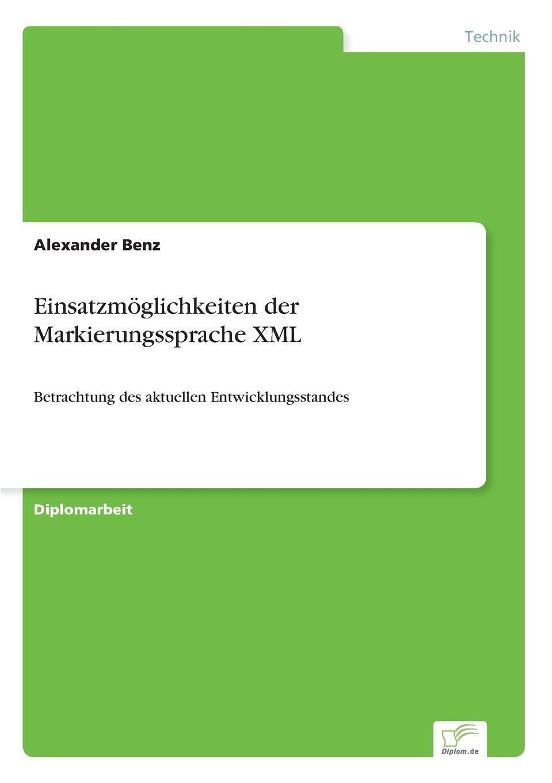 Alexander Benz Einsatzmoglichkeiten der Markierungssprache XML sitemap 3 xml href