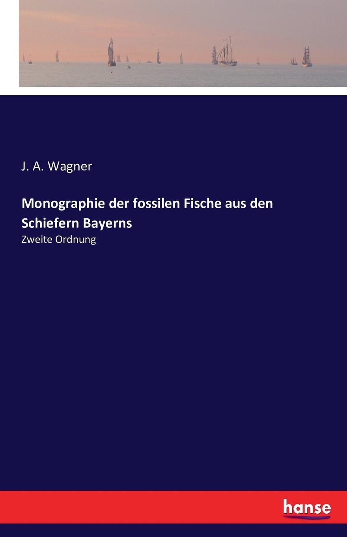 J. A. Wagner Monographie der fossilen Fische aus den Schiefern Bayerns peter roschmann kraftstoffe aus fossilen und regenerativen quellen