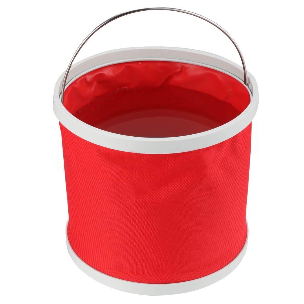 Ведро Migliores складное, красный ведро складное acecamp transparent folding bucket