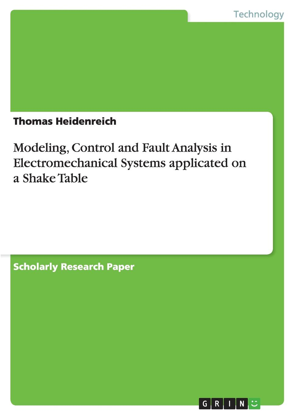 Thomas Heidenreich Modeling, Control and Fault Analysis in Electromechanical Systems applicated on a Shake Table jtron speed reversible control simple stepper motor controller pwm generator controller green