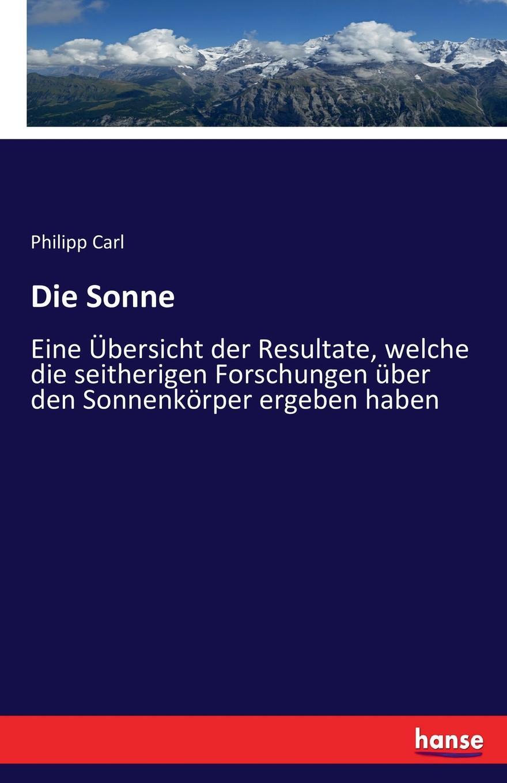 Philipp Carl Die Sonne