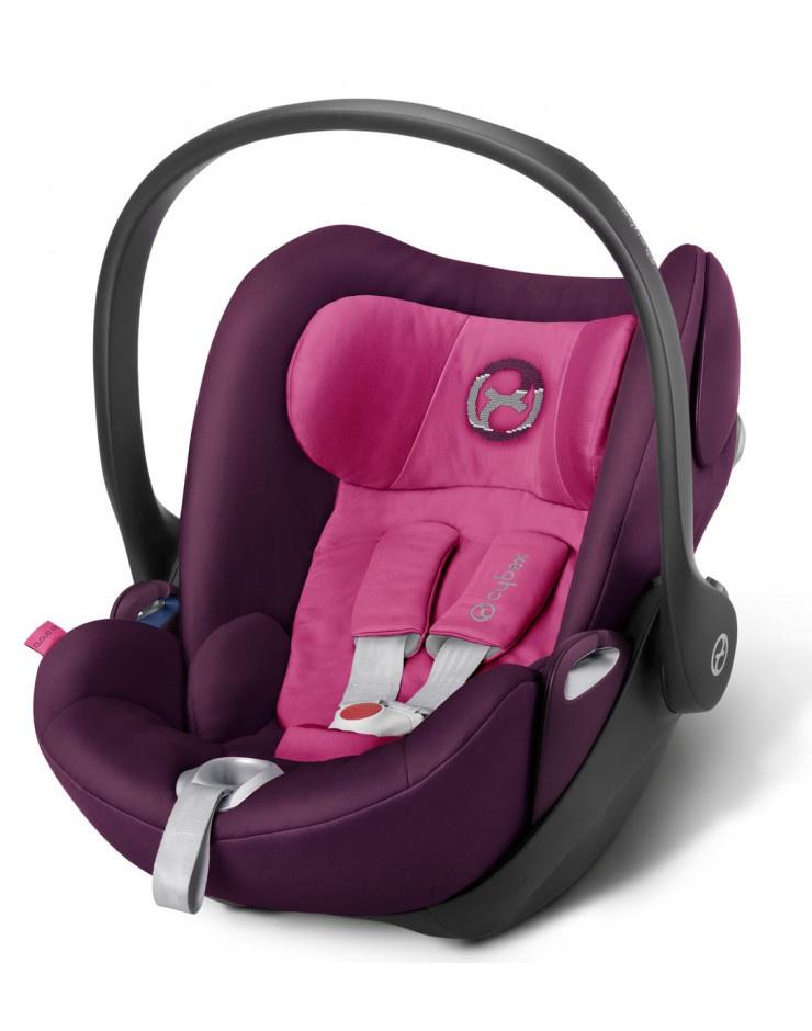 Автокресло Cybex Cloud Q розовый сумка для коляски cybex priam birds of paradise