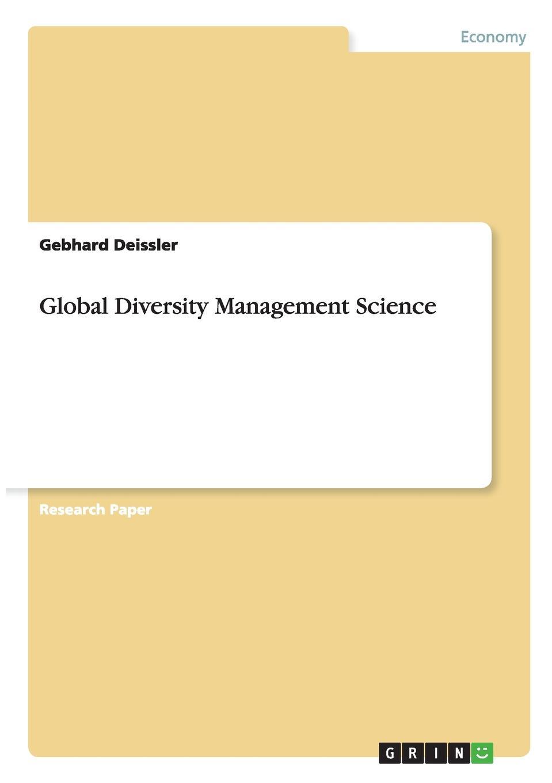 Gebhard Deissler Global Diversity Management Science global marketing management page 9