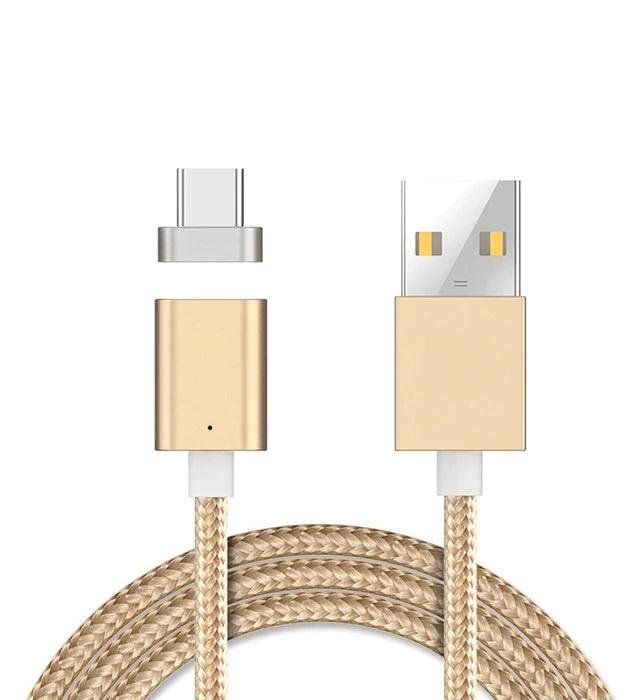 цена на Кабель Floveme магнитный USB Type-C, золотой