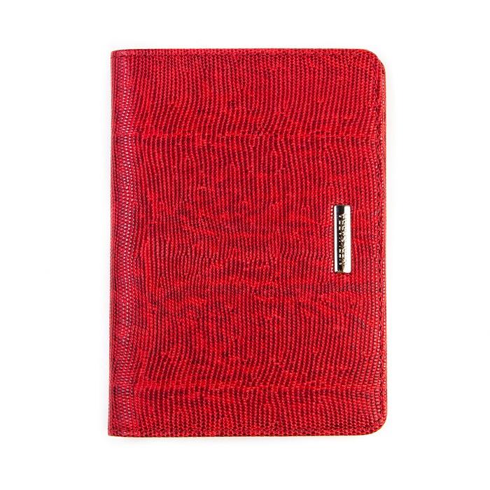 Обложка для паспорта Neri Karra .0037, красный обложка для паспорта женская neri karra цвет белый красный 01402 02 12 05